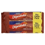 Clearance Line McVities Milk Chocolate Digestives Twin Pack 2x316g