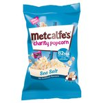 Clearance Line Metcalfes Skinny Sea Salt Popcorn 17g