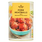 Clearance Line Morrisons Pork Meatballs In Mexican Style Sauce 380g