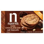 Clearance Line Nairns Dark Chocolate Chip Oat Biscuits 200g
