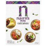 Clearance Line Nairns Mini Oatcakes 200g ***BOX DENTED PRODUCT FINE***