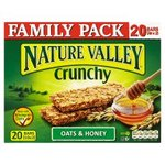 Clearance Line Nature Valley Crunchy Oats and Honey 20 Bars