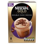 Clearance Line Nescafe Gold Double Choca Mocha 8 Sachets