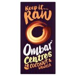 Clearance Line Ombar Centres Coconut and Vanilla Vegan Chocolate 35g