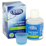 Clearance Line Optrex Multi Action Eye Wash 100ml Plus Eye Bath