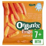 Clearance Line Organix 7 Month Finger Foods Organic Crunchy Carrot Sticks 20g