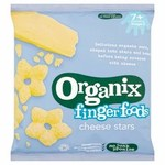 Clearance Line Organix Cheese Stars Stage 2 20g