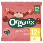 Clearance Line Organix Goodies Fruit Gummies Strawberry 12g 12 Months