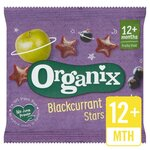 Clearance Line Organix Goodies Fruit Stars Blackcurrant 12g