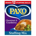 Clearance Line Paxo Chestnut and Cranberry 170g