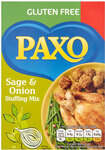 Clearance Line Paxo Gluten Free Stuffing Sage And Onion Mix 150g