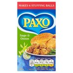 Clearance Line Paxo Stuffing Sage And Onion Mix 85g