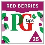 Clearance Line PG Tips Red Berries 25 Teabags