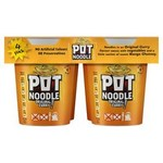 Clearance Line Pot Noodle Original Curry 4 Pack