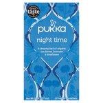 Clearance Line Pukka Organic Night Time Tea 20 Teabags