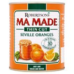 Clearance Line Robertsons Mamade Thin Cut Seville Orange 850g Can **SLIGHTLY DENTED CANS**