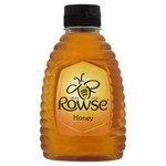 Clearance Line Rowse Blossom Pure and Natural Squeezy Clear Honey 340g