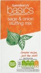 Clearance Line Sainsburys Basic Stuffing Sage And Onion Mix 85g