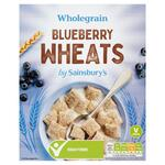 Clearance Line Sainsburys Blueberry Wheats 500g
