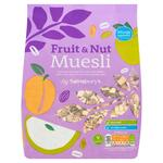 Clearance Line Sainsburys Fruit and Nut Muesli 750g