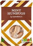 Clearance Line Sainsburys Mint Humbugs 200g
