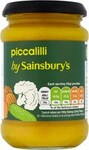 Clearance Line Sainsburys Piccalilli 290g