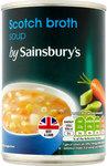 Clearance Line Sainsburys Scotch Broth Soup 400g