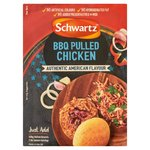 Clearance Line Schwartz Authentic American BBQ Pulled Chicken Mix 35g