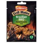 Clearance Line Schwartz Grill Mates Brazilian BBQ Marinade Mix 30g