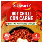 Clearance Line Schwartz Hot Chilli Con Carne Mix 41g