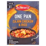 Clearance Line Schwartz One Pan Cajun Chicken and Rice 32G