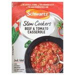 Clearance Line Schwartz Slow Cookers Beef And Tomato Casserole 40g