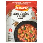 Clearance Line Schwartz Slow Cookers Chicken Curry 40g