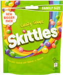 Clearance Line Skittles Crazy Sours Pouch 196g