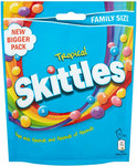 Clearance Line Skittles Tropical Pouch 196G