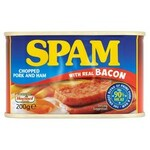 Clearance Line Spam Chopped Pork and Ham with Bacon 200g
