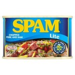 Clearance Line Spam Lite Chopped Ham and Pork 200g