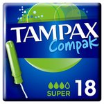 Clearance Line Tampax Compak with Applicator Super 18