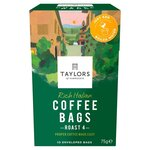 Clearance Line Taylors Rich Italian Coffee Bags 10 per pack