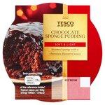 Clearance Line Tesco Chocolate Sponge Pudding 115g