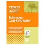 Clearance Line Tesco Echinacea Cold and Flu Tablets 30