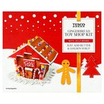 Clearance Line Tesco Gingerbread Toy Shop Kit 400G