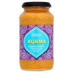Clearance Line Tesco Korma Cooking Sauce 500g jar
