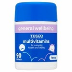 Clearance Line Tesco Multivitamins 90 Tablets
