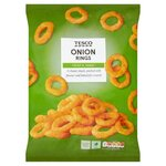 Clearance Line Tesco Onion Rings Snacks 150g