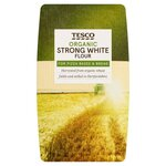 Clearance Line Tesco Organic Strong White Flour 1Kg