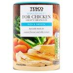 Clearance Line Tesco Reduced Salt Gravy Granules for Chicken 200g