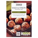 Clearance Line Tesco Sage and Onion Stuffing Mix 170g