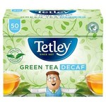 Clearance Line Tetley Green Tea Decaffeinated 50 Teabags