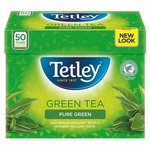 Clearance Line Tetley Pure Green Tea 50 Tea Bags